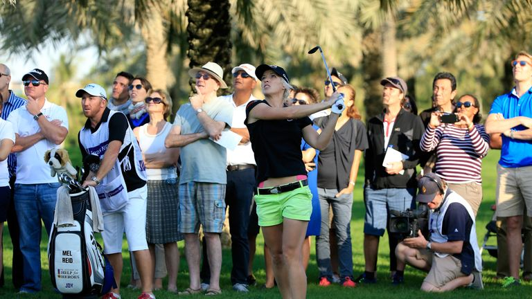 Reid ended a three-year winless run with victory at the Turkish Airlines Ladies Open