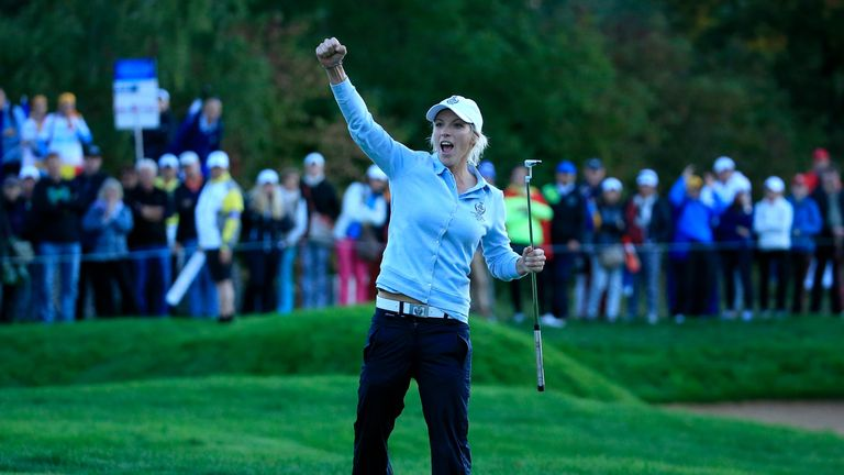 Reid won three of her four matches at St. Leon-Rot Golf Club