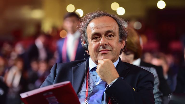 Sheikh Salman backed Michel Platini's bid before he was forced out of the race