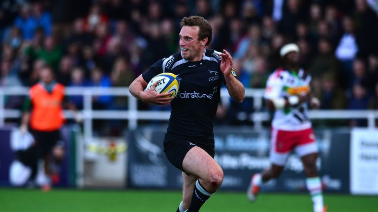 Blair had a spell in England with Newcastle Falcons