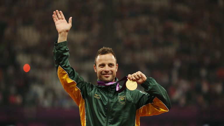 Pistorius has won six gold medals at the Paralympic Games