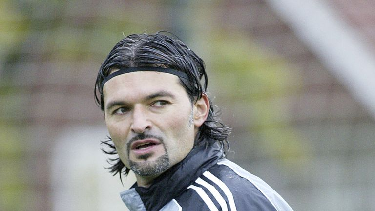 Pavel Srnicek is fighting for his life after suffering a cardiac arrest