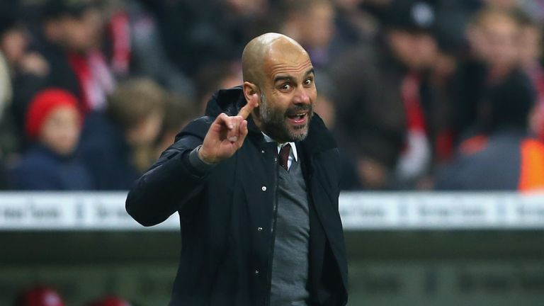 Bayern boss Pep Guardiola has been linked with a move to England
