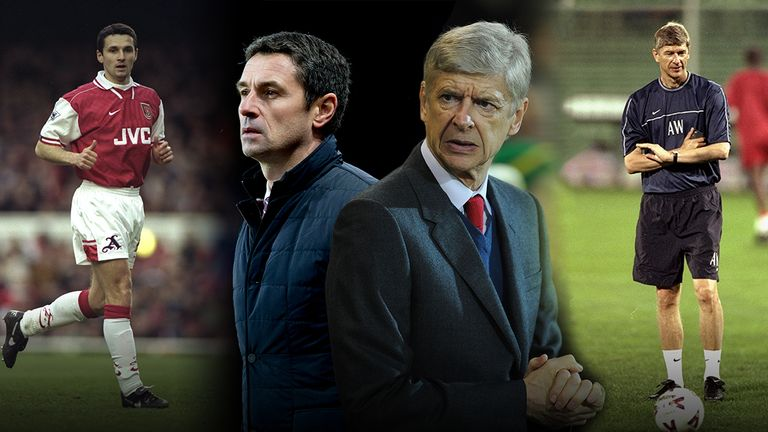 Remi Garde and Arsene Wenger now find themselves on opposite sides