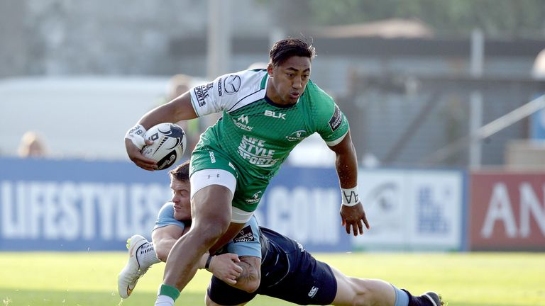 Connacht centre Bundee Aki is PRO12 Players' Player of the Year