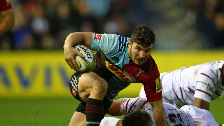 George Lowe was in impressive form against the Exiles