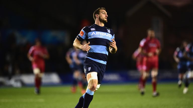 Sam Warburton was dominant at the breakdown against the Scarlets