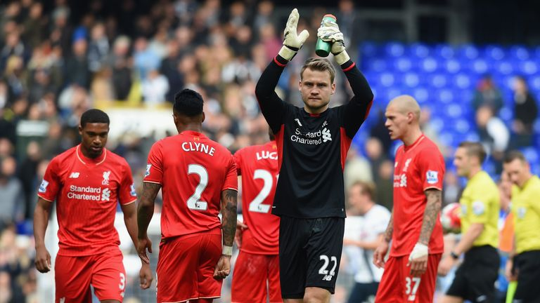 Simon Mignolet has been backed by his boss Jurgen Klopp