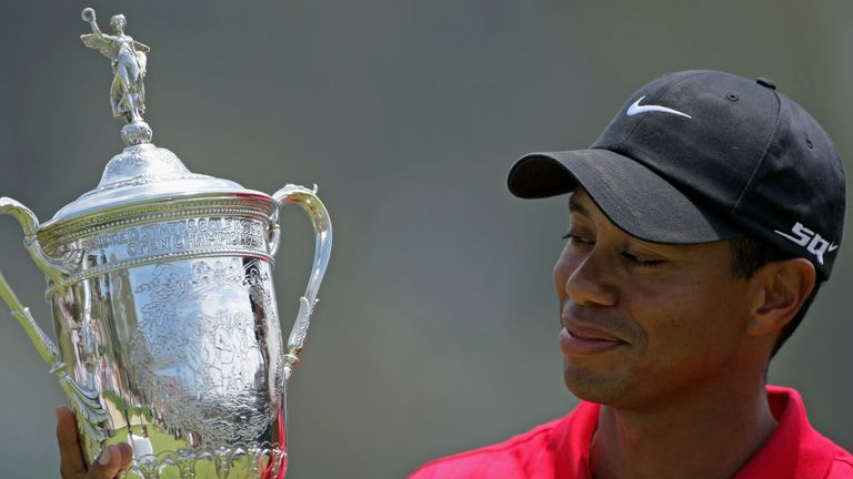 The last of Tiger Woods' major wins came at the 2008 US Open