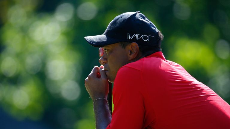 Woods' golfing future remains uncertain with no sign of a return
