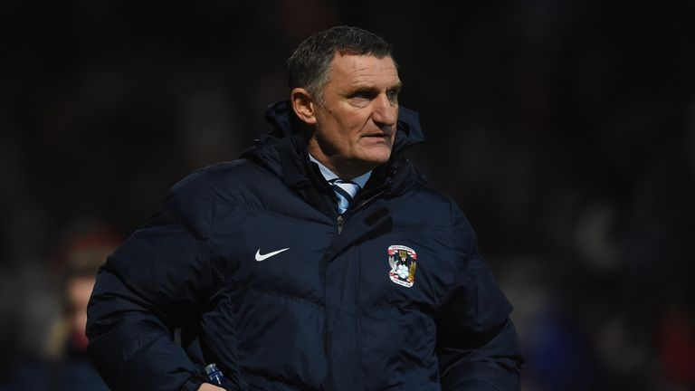 Coventry boss Tony Mowbray has a good relationship with Anderson
