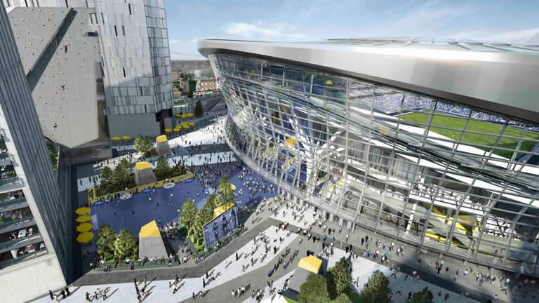 Tottenham are due to move into a new stadium in time for the 2018/9 season