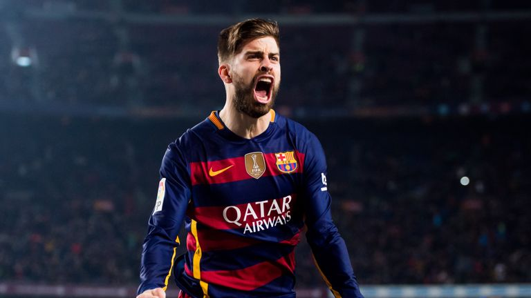 Gerard Pique will not play against Las Palmas on Sunday, live on Sky Sports 5HD