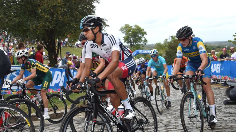 Peters represented Great Britain at the 2015 UCI Road World Championships in Richmond