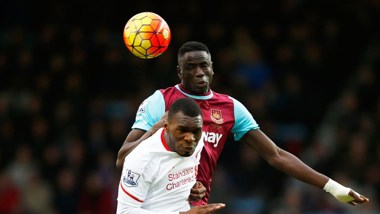 Benteke struggled all afternoon to make his presence count for Liverpool