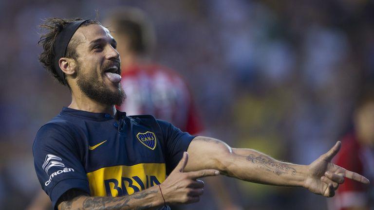 Dani Osvaldo most recently played for Boca Juniors