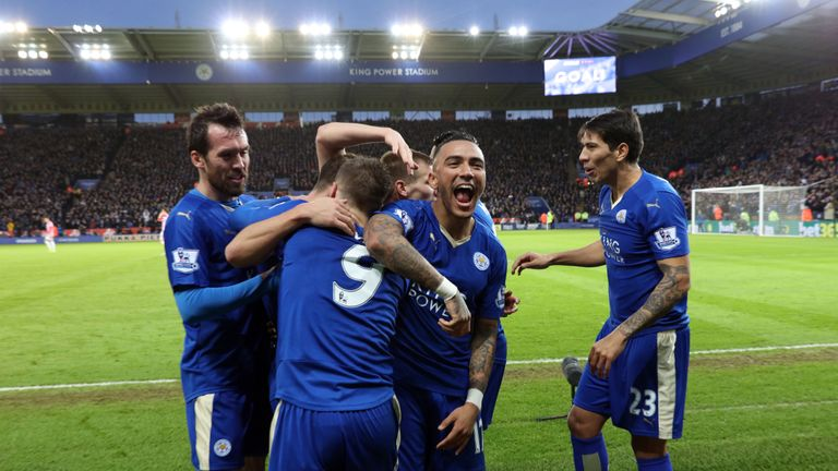 Leicester went into single-figure odds after beating Stoke