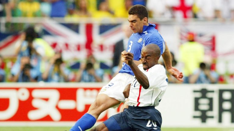 Darius Vassell played in a World Cup and a European Championship for England