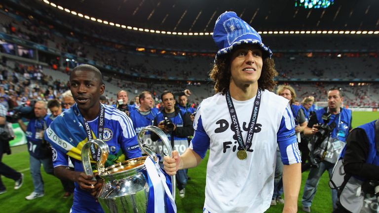 Ramires won the Champions League in 2012 during his time with Chelsea