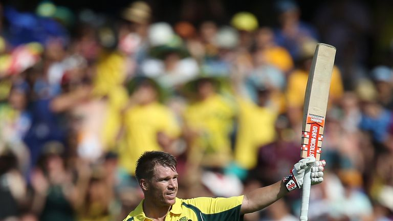 David Warner will hope to carry his IPL form into the ODI arena