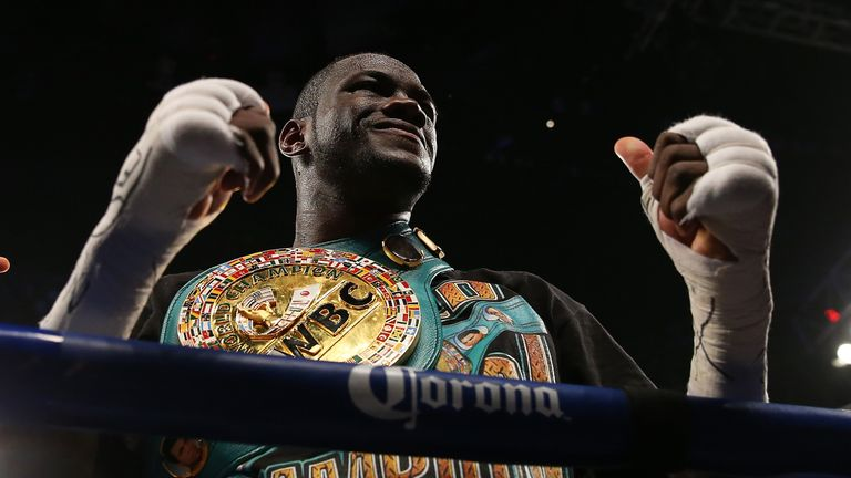 Deontay Wilder's WBC heavyweight title defence has been called off