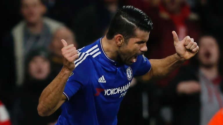 Diego Costa would be the perfect replacement for the recently departed Jackson Martinez at Atleti next season, says Terry Gibson
