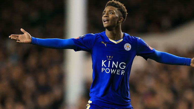 Leicester snapped up Demarai Gray