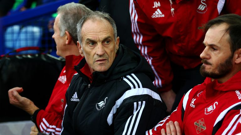Francesco Guidolin's Swans have almost secured their Premier League safety