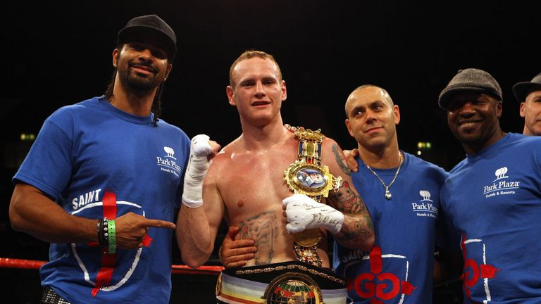 David Haye and Groves are back under the same trainer again