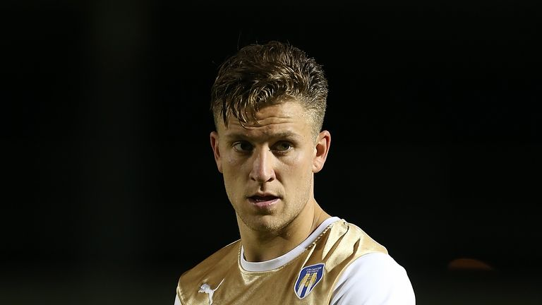 George Moncur has been a prolific scorer from midfield for Colchester this season