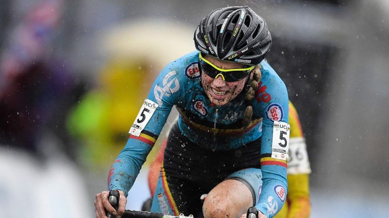 A motor was found in the bike of Femke Van Den Driessche at the UCI Cyclo-cross World Championships