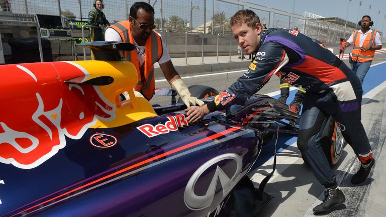 Red Bull struggled with overheating at the start of the new power unit era
