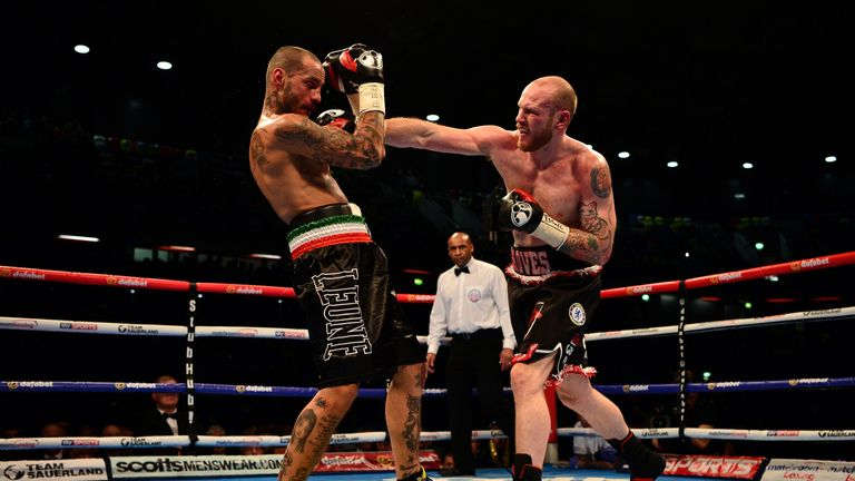 Groves produced an impressive performance under new trainer Shane McGuigan
