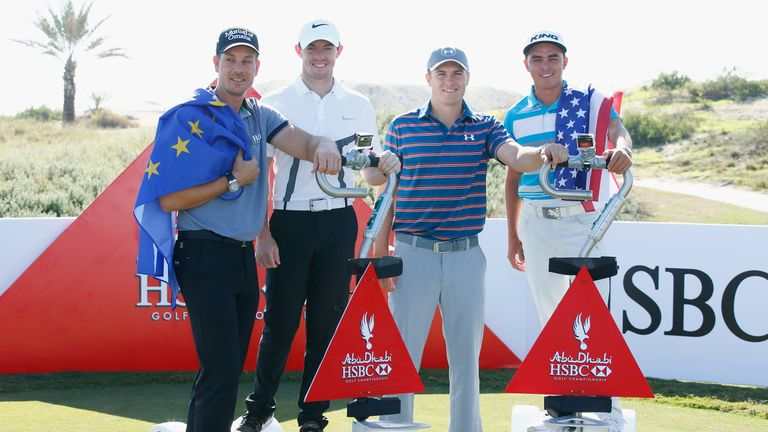 Henrik Stenson, Jordan Spieth, Rory McIlroy, Rickie Fowler - four of the world's top six - are all in this week's field
