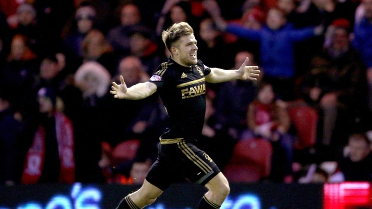Jamie Ward's goal was enough for Forest to pick up their first-ever win at the Riverside Stadium.