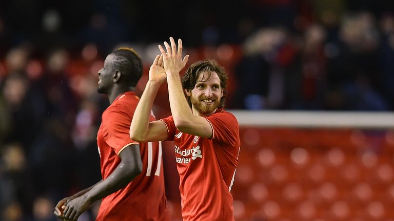Joe Allen should be available after recovering from a shoulder injury