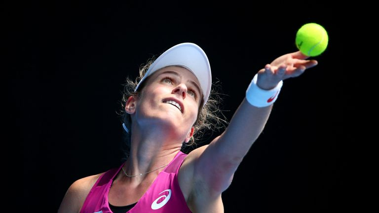 Johanna Konta reached the semi-final of the Australian Open