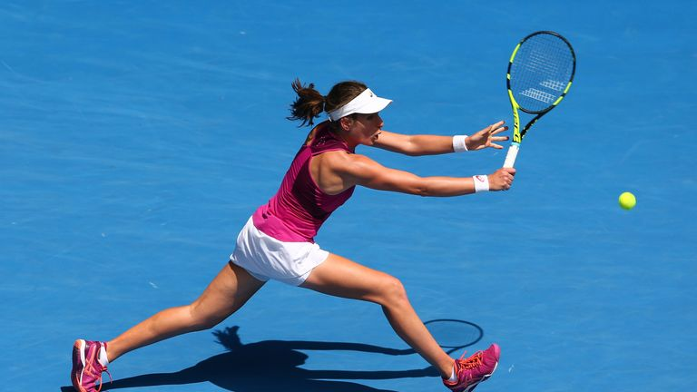 Konta has beaten seven of the world's top 20 players since last summer