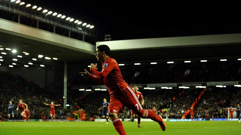 Luis Suarez made an instant impact, scoring on his Liverpool debut