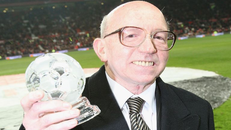 Nobby Stiles is one of three members of England's 1966 squad suffering from dementia