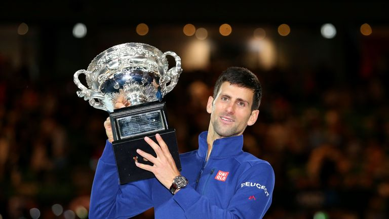 Djokovic began this year with a sixth Australian Open crown