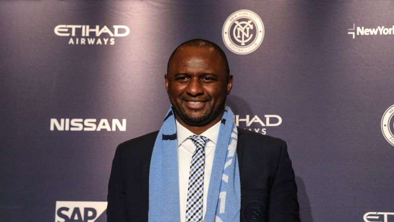 Vieira took charge of New York City FC at the start of 2016