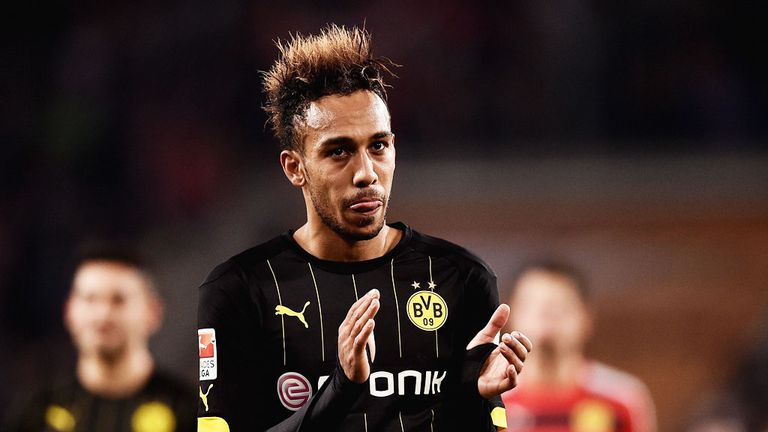 Aubameyang has reportedly attracted interest from English clubs