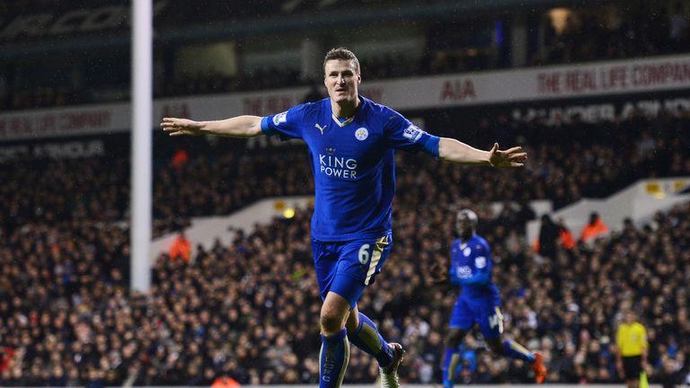 Robert Huth's header sealed all three points for Leicester at Tottenham