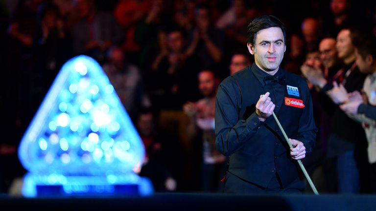 O'Sullivan matched Stephen Hendry in claiming his sixth Masters title