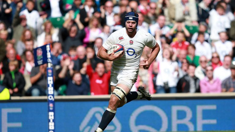 Josh Beaumont scored against the Barbarians last May
