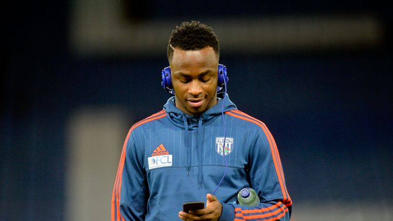 West Brom starts have been thin on the ground for Berahino this season