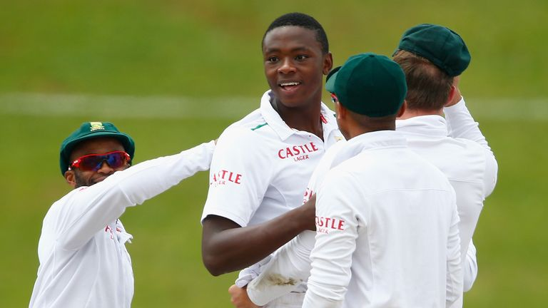 Kagiso Rabada has signed for Kent for a short spell during the summer
