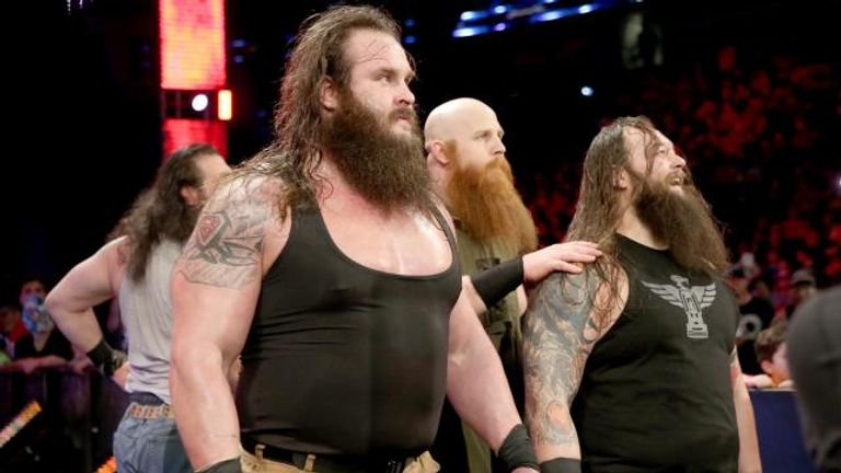 The Wyatt Family were sent into retreat in New Orleans