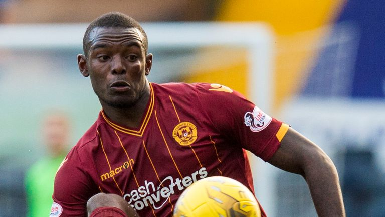 Theo Robinson has left Motherwell and returned to England